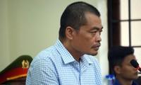 Bị cáo Nguyễn Thanh Hoài. Ảnh: Nguyễn Hoàn
