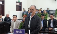 Bị cáo Trần Văn Minh tại tòa