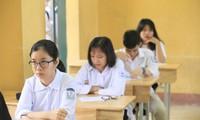 Học sinh lớp 9 đang nóng lòng chờ Sở GD&ĐT Hà Nội công bố môn thi thứ 4 hoặc giảm bớt môn thiẢnh: PV
