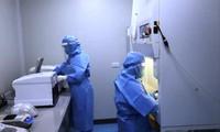 Hệ thống máy xét nghiệm SARS-CoV-2 tại CDC Bắc Ninh