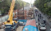 Hạng mục rà phá bom mìn, di chuyển cây xanh tại phố Kim Mã được triển khai năm 2018