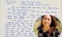 Bản tường trình đầy lỗi chính tả của nữ thạc sỹ trưởng phòng Quản trị