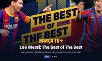 Video Barca tri ân Messi