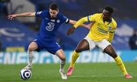 Chelsea chỉ có được 1 điểm trước đối thủ yếu Brighton. Ảnh: Getty.