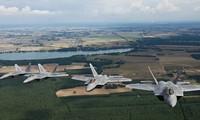 Máy bay F-22 Raptors. Không quân Mỹ sẽ được nâng cao năng lực tác chiến trong thời gian tới