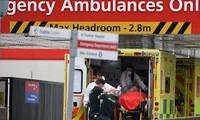 Số ca tử vong do COVID-19 tại Anh vượt mốc 40.000 người. Ảnh: AA.
