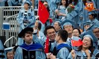 Sinh viên Trung Quốc tại một trường Đại học ở Mỹ. Ảnh: DW.