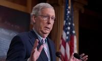Lãnh đạo phe đa số của đảng Cộng hòa tại Thượng viện Mỹ, ông Mitch McConnell. Ảnh: ABC.
