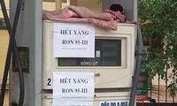 Nhiều cây xăng Hà Nội hết xăng RON 95 để bán