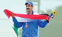 Xạ thủ Kuwait, Abudullah Al-Rashidi. Ảnh: GETTY IMAGES