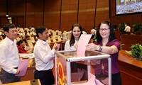 Quốc hội bỏ phiếu miễn nhiệm các bộ trưởng, trưởng ngành ngày 7/4