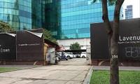"""Dự án khách sạn 5 sao- trung tâm thương mại và căn hộ cao cấp trên đất """"kim cương"""" 3 mặt tiền đường Lê Duẩn- Hai Bà Trưng- Nguyễn Văn Chiêm (TPHCM) đã bị các doanh nghiệp tư nhân thâu tóm. Ảnh: L.N"""