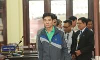 Bị cáo Hoàng Công Lương tại tòa