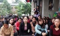 Giáo viên hợp đồng ở Sóc Sơn, Hà Nội. Ảnh: Thanh Tra