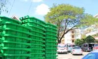 280 thùng rác không dùng được bị bệnh viện tỉnh trả lại cho Sở Y tế