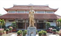 Nhà lưu niệm Nguyễn Thị Minh Khai tọa lạc tại đường Quang Trung, TP Vinh