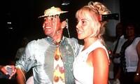 Maradona cùng vợ cũ Claudia tham dự một buổi tiệc tại Italy