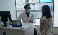 """Cận tết, Khoa Thẩm mỹ da Bệnh viện Da liễu TPHCM tiếp nhận từ 3-5 ca/ngày tai biến do làm đẹp (ảnh: U.P)"""""""