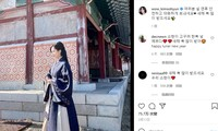 Bức ảnh Kim So-hyun mặc Hanbok đăng lên tường trang Insagram cá nhân bị các cư dân mạng Trung Quốc vào tấn công