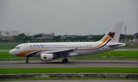 Một chiếc máy bay của Myanmar Airlines được cho là vận chuyển người và hàng hoá từ Côn Minh đến Yangon trong những ngày gần đây. Ảnh: Twitter
