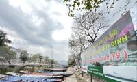 Khu vực suối Yến chùa Hương chờ đợi đón khách trở lại. Ảnh: Trọng Tài