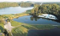 Sân golf Kings Course đã sẵn sàng chào đón 144 golfer tranh tài trong ngày hôm nay. Ảnh MẠNH THẮNG