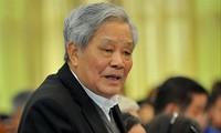 Ông Nguyễn Túc, Chủ nhiệm Hội đồng tư vấn về Văn hóa - Xã hôi, Ủy ban Trung ương MTTQ Việt Nam