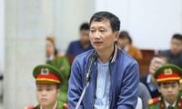 Trịnh Xuân Thanh là một trong các quan chức phải ra vành móng ngựa thời gian qua. Ảnh: PV