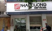Một cơ sở của hệ thống Nhật Cường Mobile đóng cửa