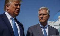 Tổng thống Donald Trump và Cố vấn An ninh Quốc gia O'Brient cho rằng virus Corona mới có nguồn gốc Trung Quốc.