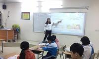 Giáo viên dạy tiếng Anh một trường tiểu học ở Hà Nội