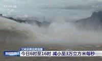 Hình ảnh Tam Hiệp ngày 6/7/2020 trên truyền hình Trung Quốc