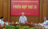 Tổng Bí thư, Chủ tịch nước Nguyễn Phú Trọng chủ trì phiên họp thứ 18 Ban Chỉ đạo T.Ư về PCTN