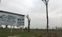 Một dự án bỏ hoang tại huyện Mê Linh, Hà Nội. Ảnh: Duy Phạm