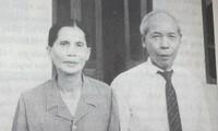 Ông bà Nam Tiến (ảnh chụp tháng 8/1987). Ảnh: Duy Chiến
