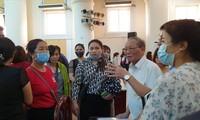 Ông Hà Đức Trụ, Phó Hiệu trưởng ĐH KD&CN tại buổi đối thoại với sinh viên hôm 26/9