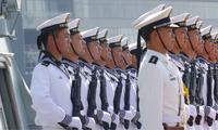Lính hải quân Trung Quốc. Ảnh: AP