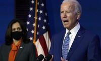 Ông Joe Biden phát biểu tại Wilmington ngày 9/11. Ảnh: AP