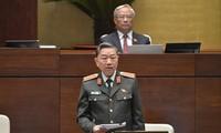 Đại tướng Tô Lâm, Bộ trưởng Bộ Công an. Ảnh :QH