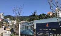 Tổ hợp khách sạn Grand Victory Hotel cao 13 tầng nổi và 1 tầng hầm tại trung tâm thị trấn đang triển khai đầu tư xây dựng