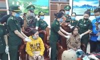 Hai đối tượng Lê Thị Hậu và Võ Thị Ngọc Ánh bị bắt khi vận chuyển 1kg ketamine