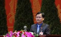 Anh Nguyễn Anh Tuấn, Bí thư thứ nhất Trung ương Đoàn TNCS HCM. Ảnh: NHƯ Ý