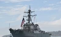 Tàu khu trục USS Russell của hải quân Mỹ