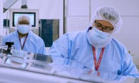 Trong phòng thí nghiệm sản xuất vắc-xin COVID-19 của Tập đoàn AstraZeneca. Ảnh: Lâm Trần