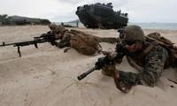 Lính Mỹ tham gia đợt tập trận ở Thái Lan hồi tháng 2/2020. Ảnh: AP