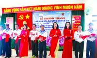 Agribank trao tặng và khánh thành công trình Nhà văn hóa Đa năng trên đảo Cô Lin – Trường Sa năm 2018