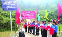 Khánh thành cầu IVB Bắc Việt - Công trình kỷ niệm 90 năm thành lập Đoàn