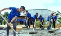 Đắk Lắk: Nhiều hoạt động ý nghĩa của tuổi trẻ giúp đỡ cộng đồng