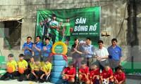 """Lễ khánh thành bàn giao công trình thanh niên """"Sân chơi năng động Việt Nam"""""""