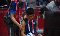 Olympic 2020: Võ sĩ Nhật Bản ngồi xe lăn rời trận đấu vẫn được xử thắng